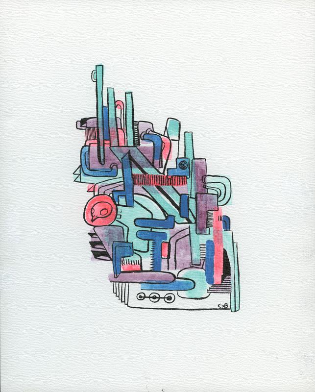 machine-blue