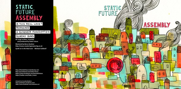 Static Future - Album Design